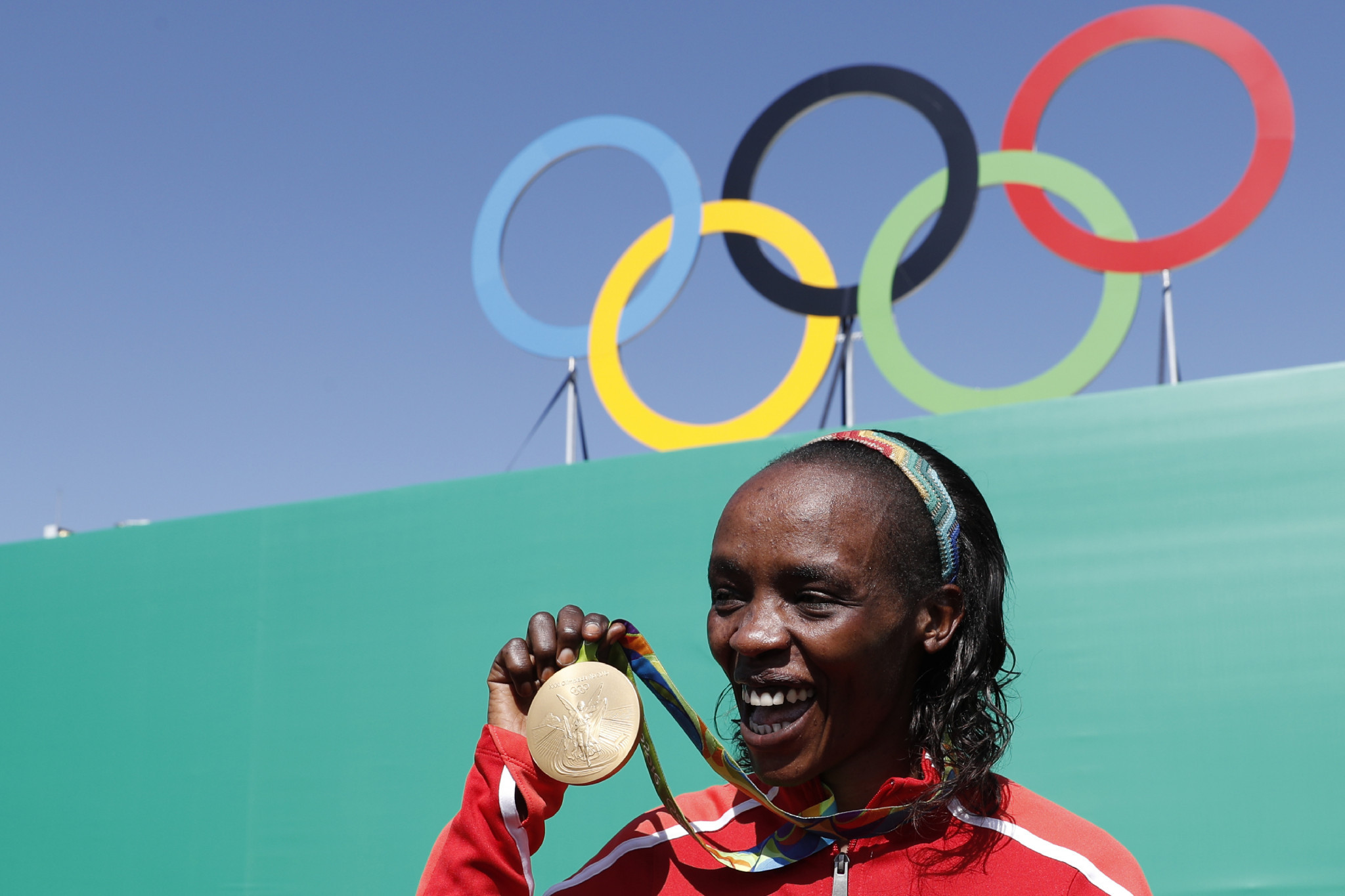 Kenya are aiming to send a clean team to Tokyo 2020, with a number of their athletes, including Rio 2016 Olympic marathon champion Jemima Sumgong, currently serving doping bans ©Getty Images