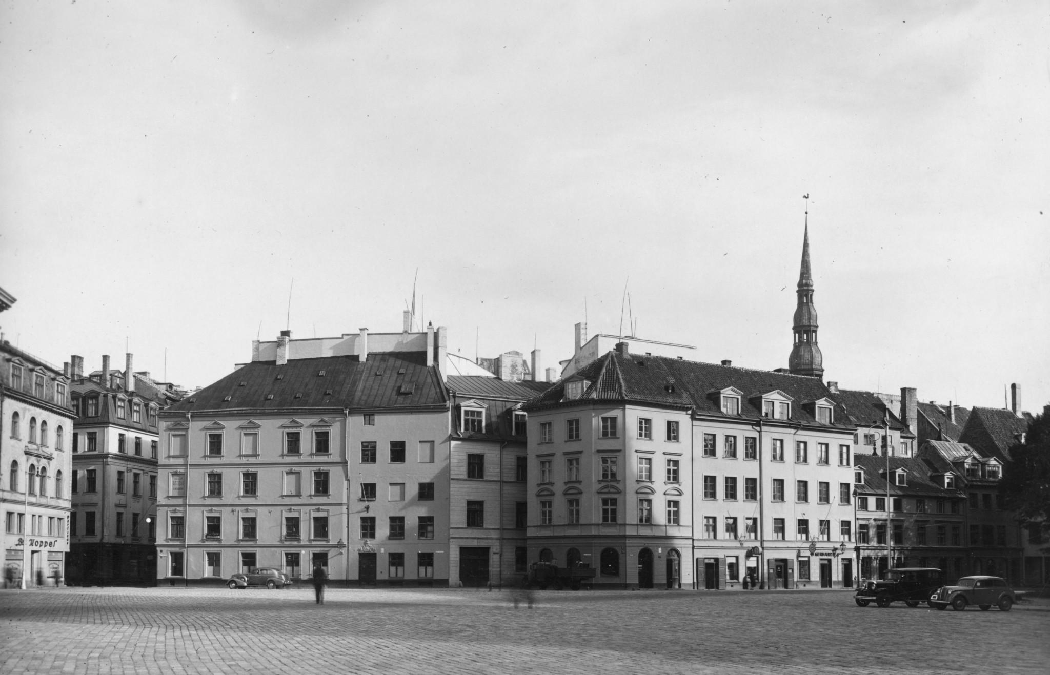 Riga, capital of Latvia. © Ed Kraucs/Hulton Archive/Getty Images