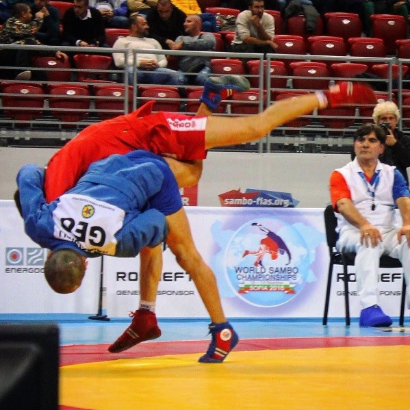 Russia dominated the opening day of the World Sambo Championships in Sofia by winning six of the nine medals available © FIAS