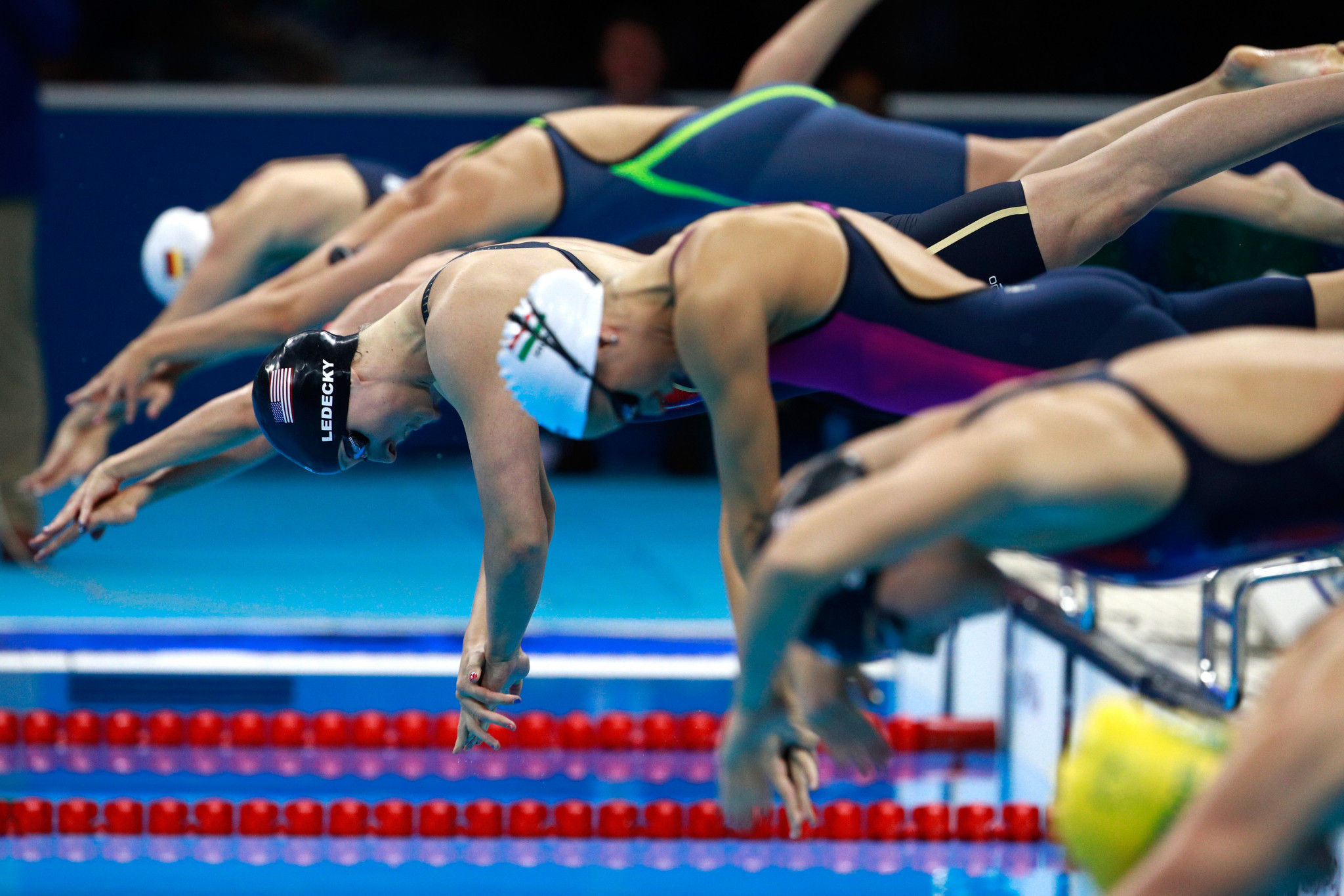 Swimming finals will take place in the morning in Tokyo and will be beneficial for the American audience ©Getty Images