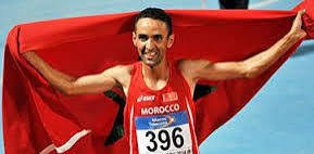 Morocco's Mustapha El Aziz was banned by the AIU for four years in 2019 ©Twitter