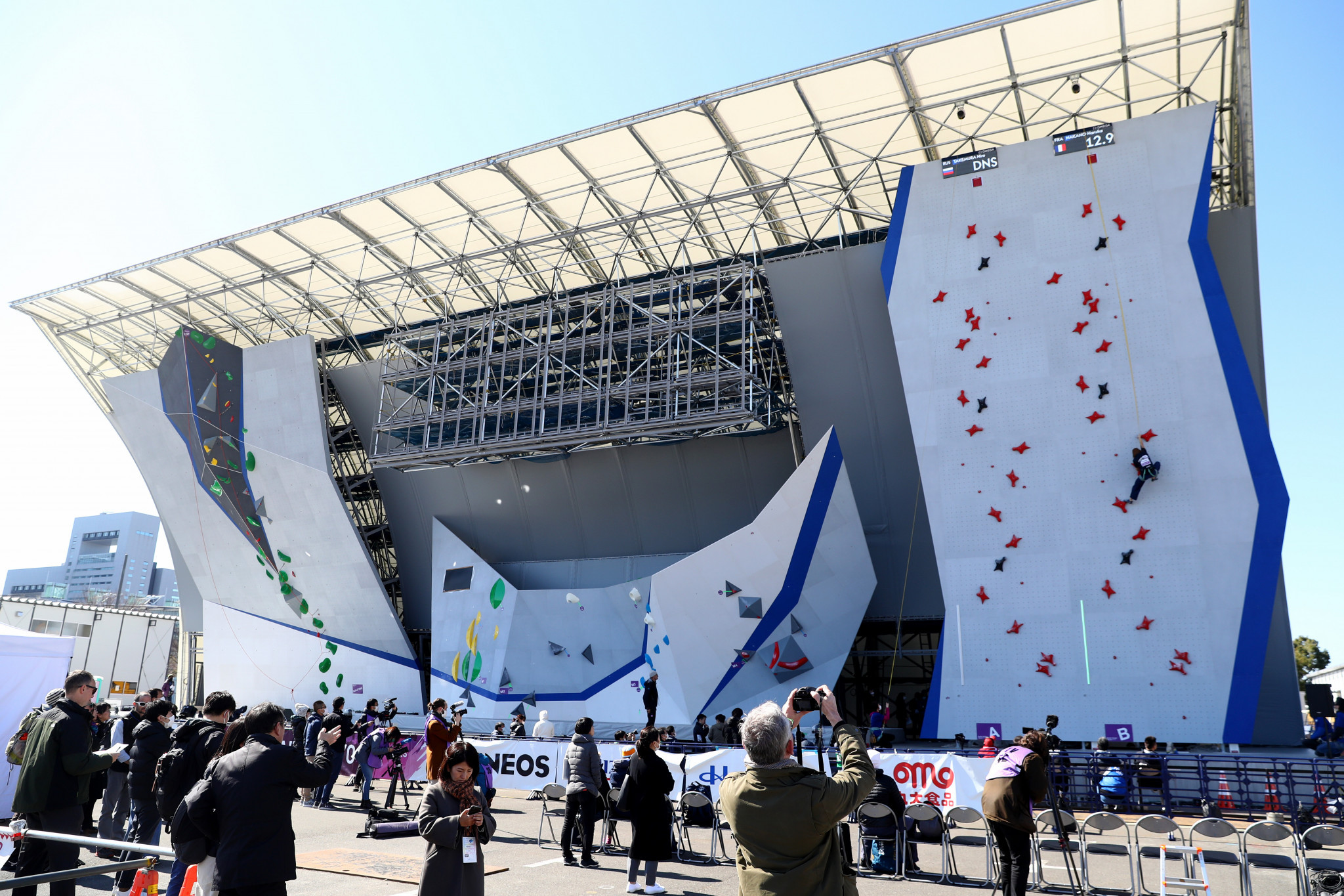 Tokyo 2020 climbing venue declared ready after test event without athletes