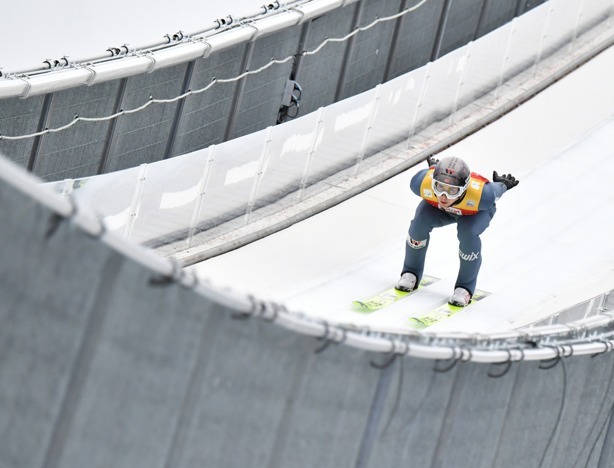 Riiber wins provisional round at FIS Nordic Combined World Cup in Oslo