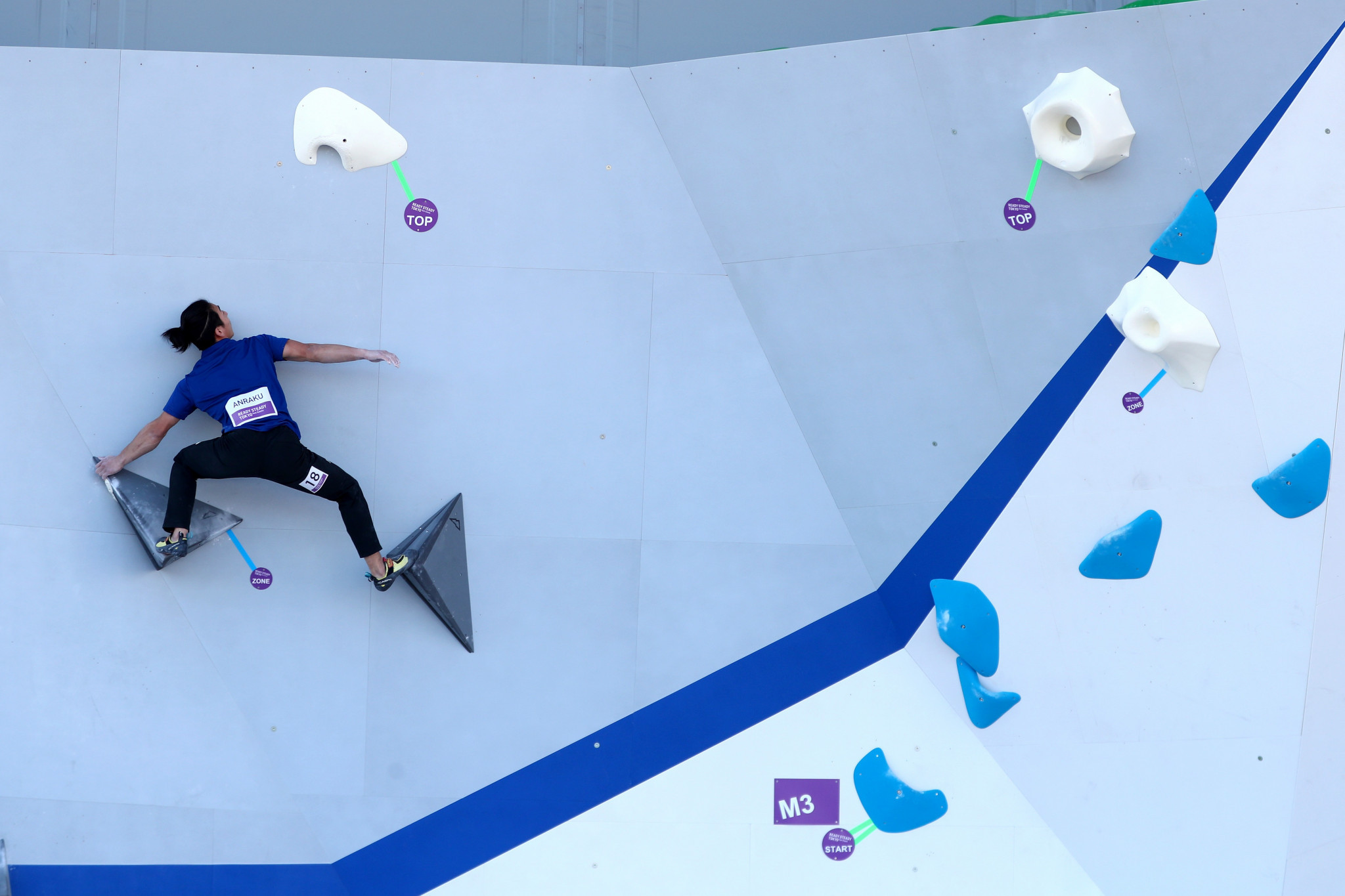 Sport climbing is set for two IFSC World Cup legs in Salt Lake City ©Getty Images