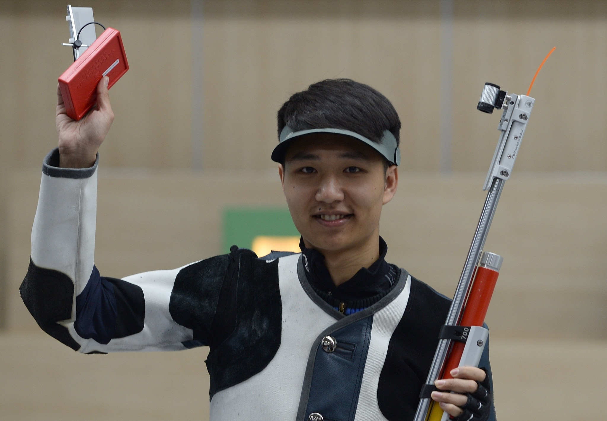 The 2014 Youth Olympic champion Yang Haoran was the winner in the men's 10m air rifle contest ©Getty Images