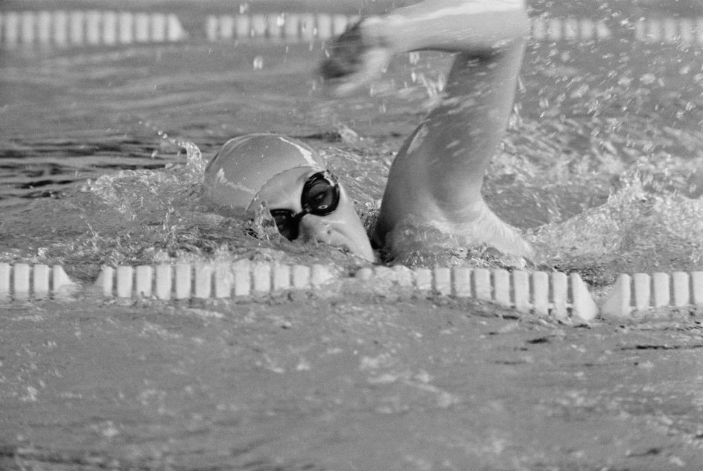 Sharron Davies took Olympic 400m medley silver at the 1980 Moscow Olympics behind a swimmer who subsequently admitted to long-term steroid use ©Getty Images