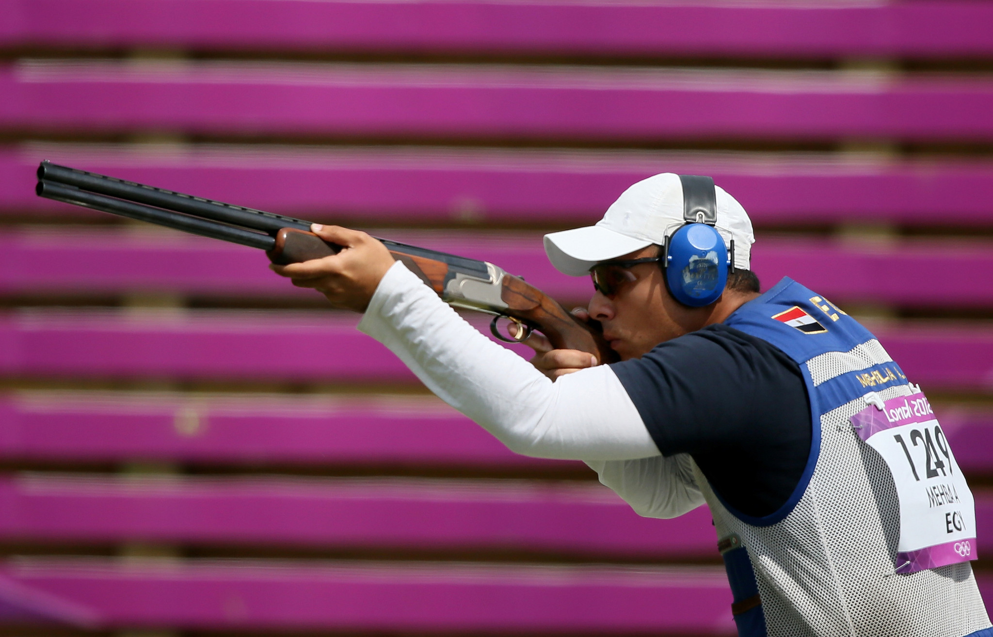 Egypt's Azmy Mehelba narrowly missed the final two but secured a bronze medal in Nicosia ©Getty Images