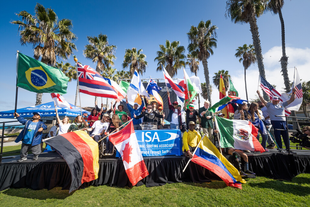 The Opening Ceremony preceded the first day of action ©ISA