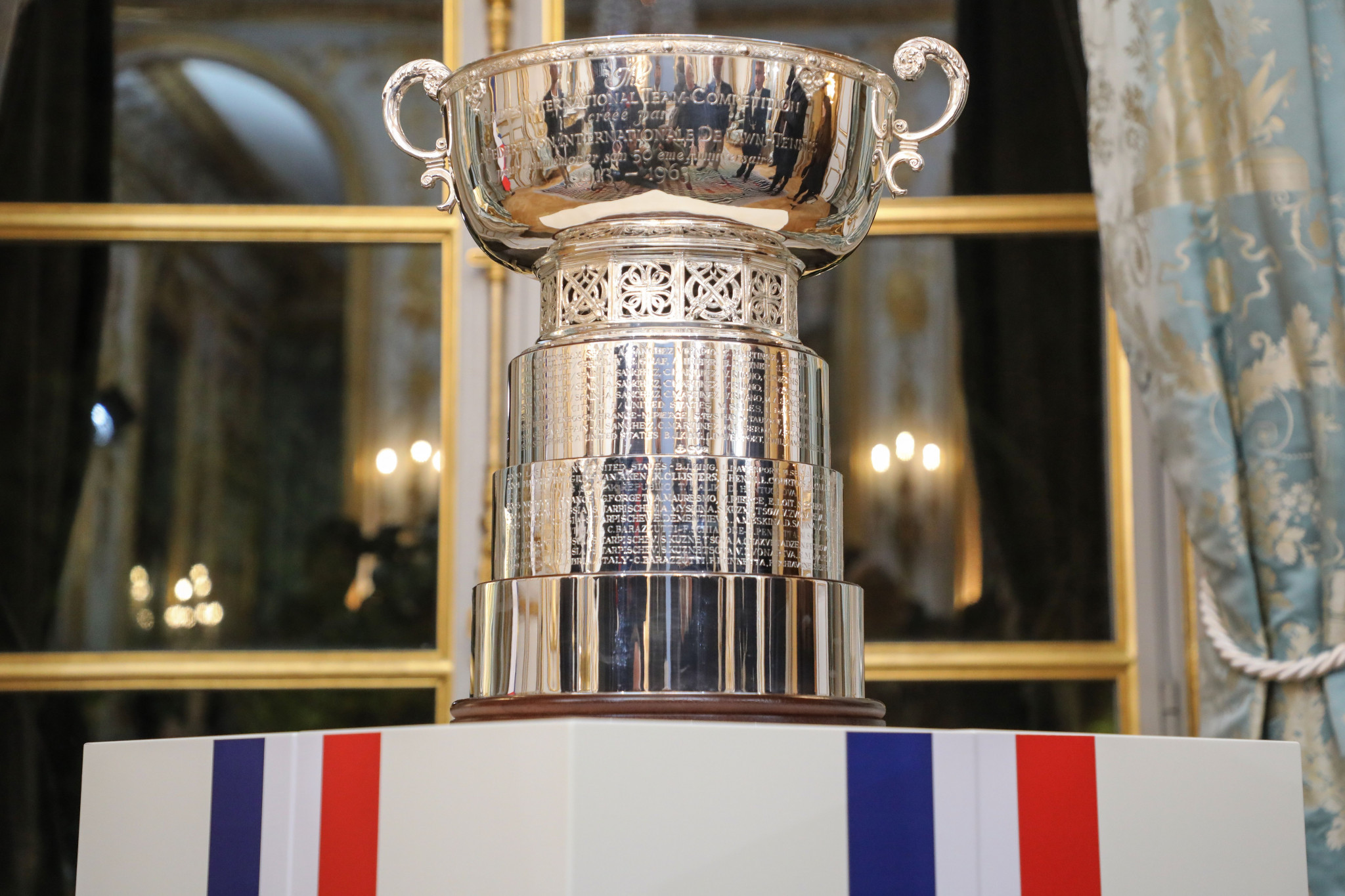 The inaugural Fed Cup Finals have been postponed because of the coronavirus ©Getty Images