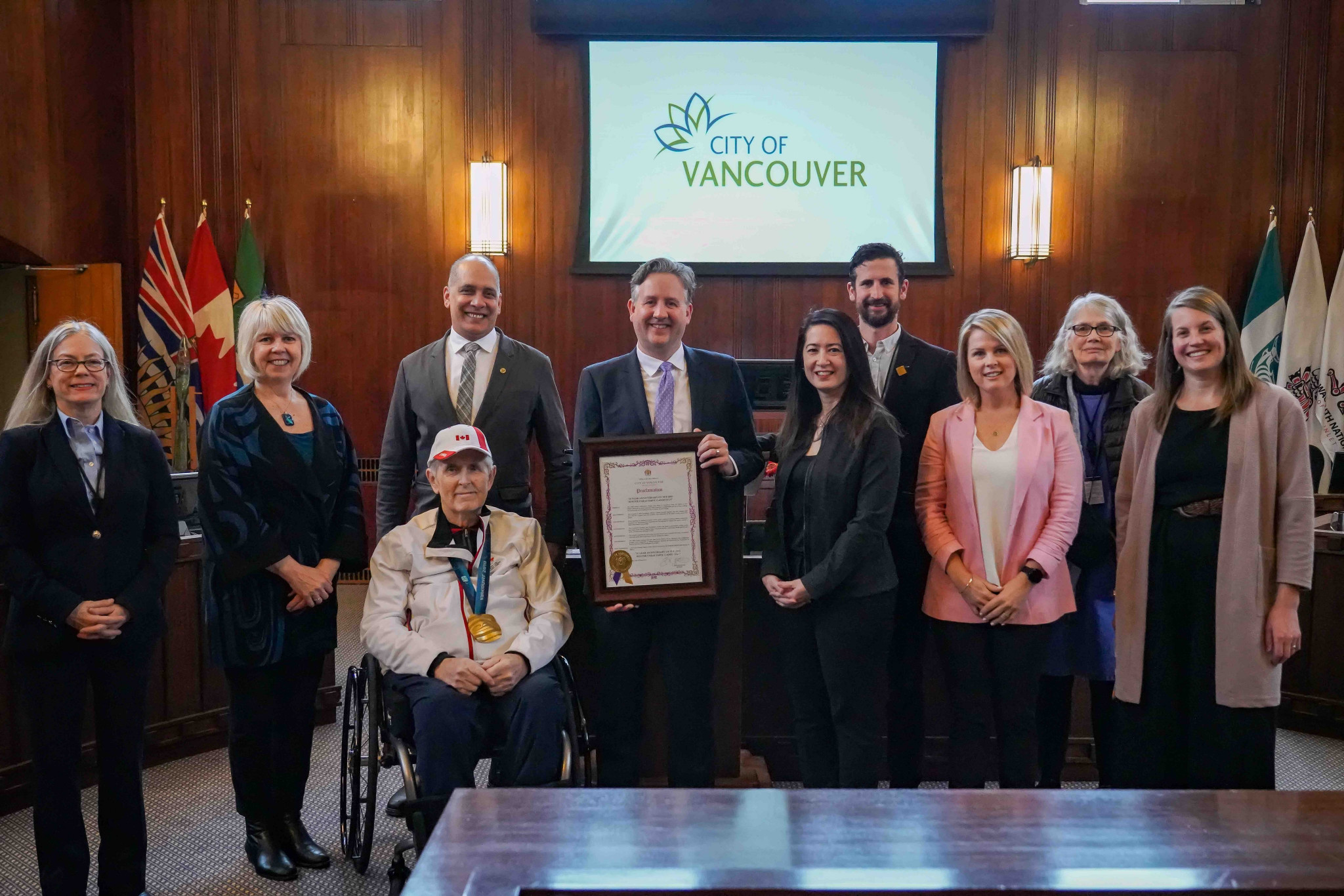 Canadian Paralympic Committee celebrates 10 years since Vancouver 2010