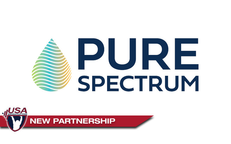 Pure Spectrum and USA Weightlifting have entered into a new partnership ©USAW