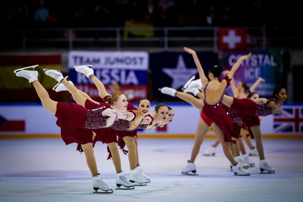 Russia take one-two finish at World Junior Synchronized Skating Championships