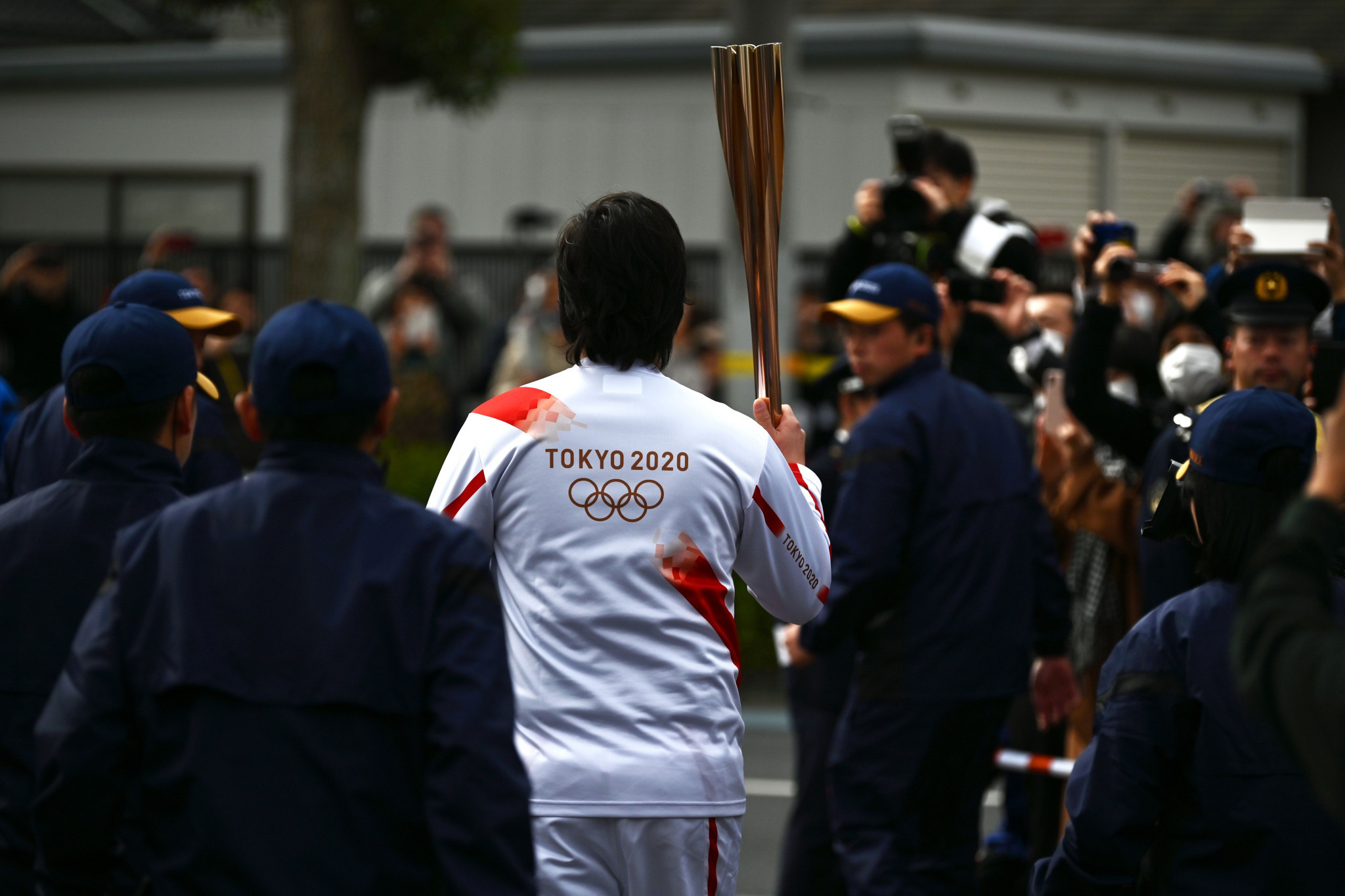 """Tokyo Governor Yuriko Koike said """"thorough infection measures"""" would be in place for the Olympic Torch Relay ©Getty Images"""