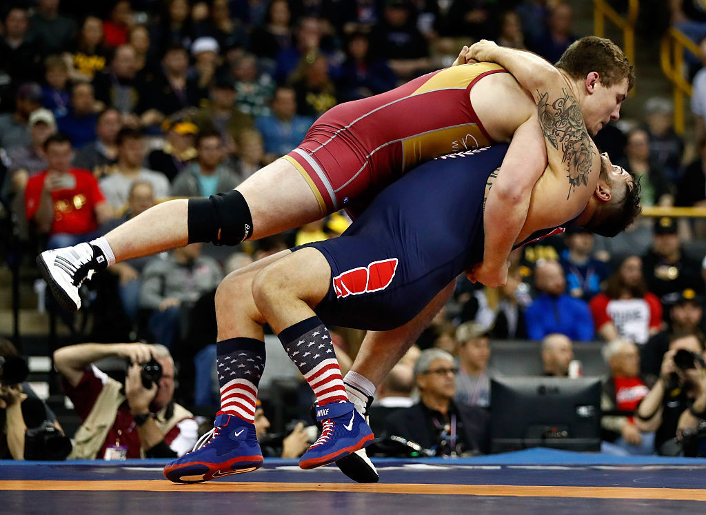 The US Olympic wrestling trials are among the events to have been postponed ©Getty Images