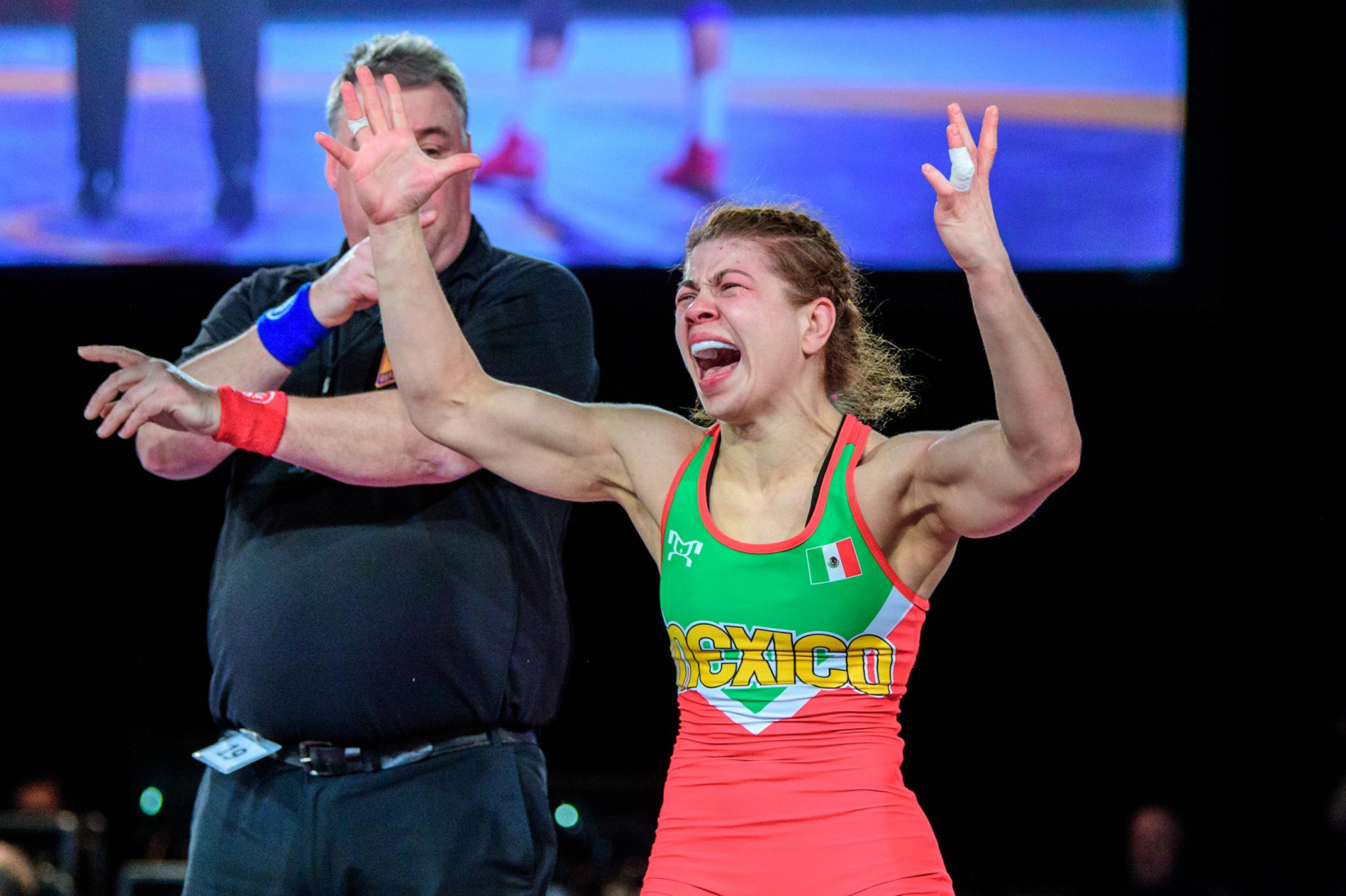 Valencia Escoto becomes first female Mexican wrestler to secure Olympic qualification