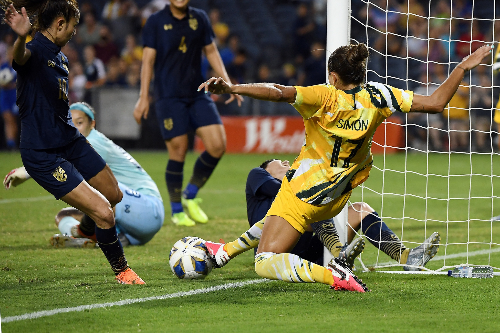 Football Federation Australia had a week to prepare after Tokyo 2020 qualifiers were moved to Sydney ©Getty Images