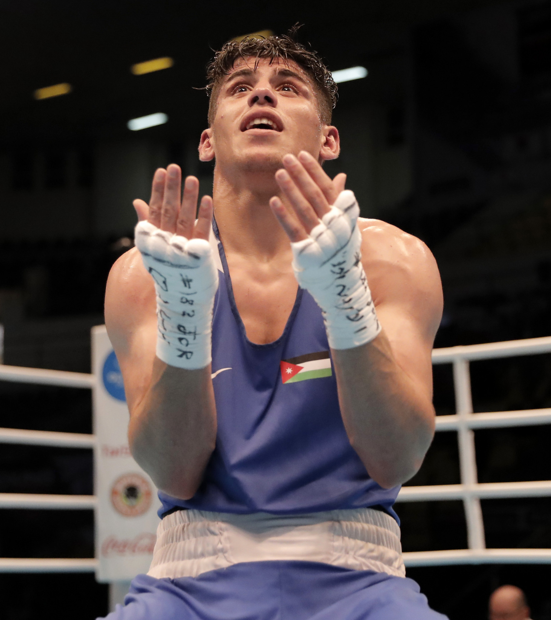 Jordan's boxers performed fantastically on home soil ©JOC