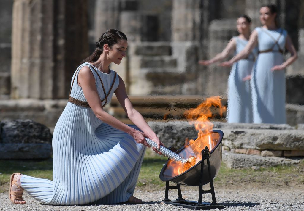 John Coates will self-isolate after travelling to Greece for the Olympic Torch lighting ceremony and to Lausanne ©Getty Images