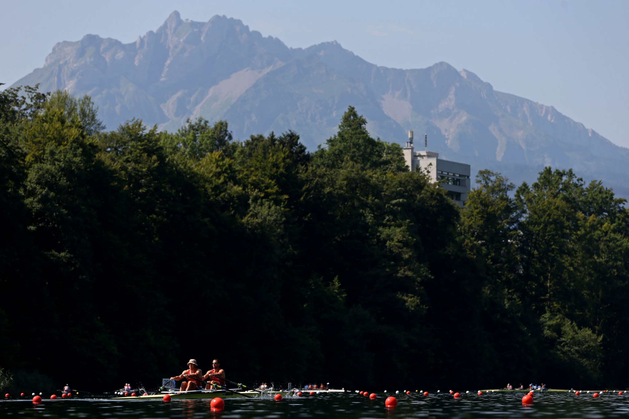 The final Olympic qualification regatta in Lucerne has been cancelled ©Getty Images