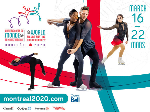 The 2020 World Figure Skating Championships had been due to begin today ©Montreal 2020