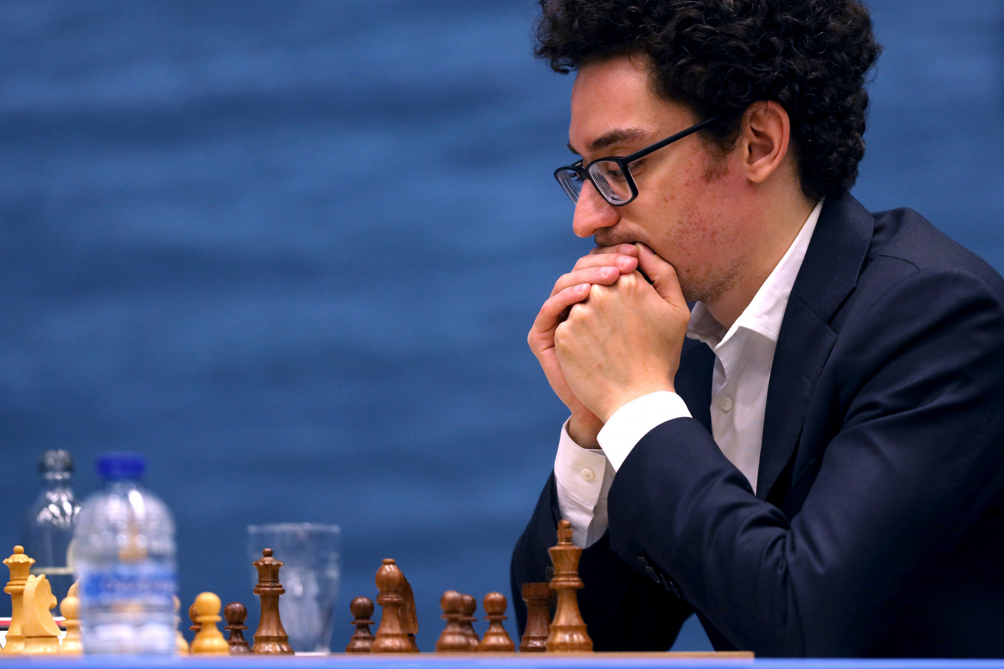 Fabiano Caruana won his second match of the tournament ©Getty Images