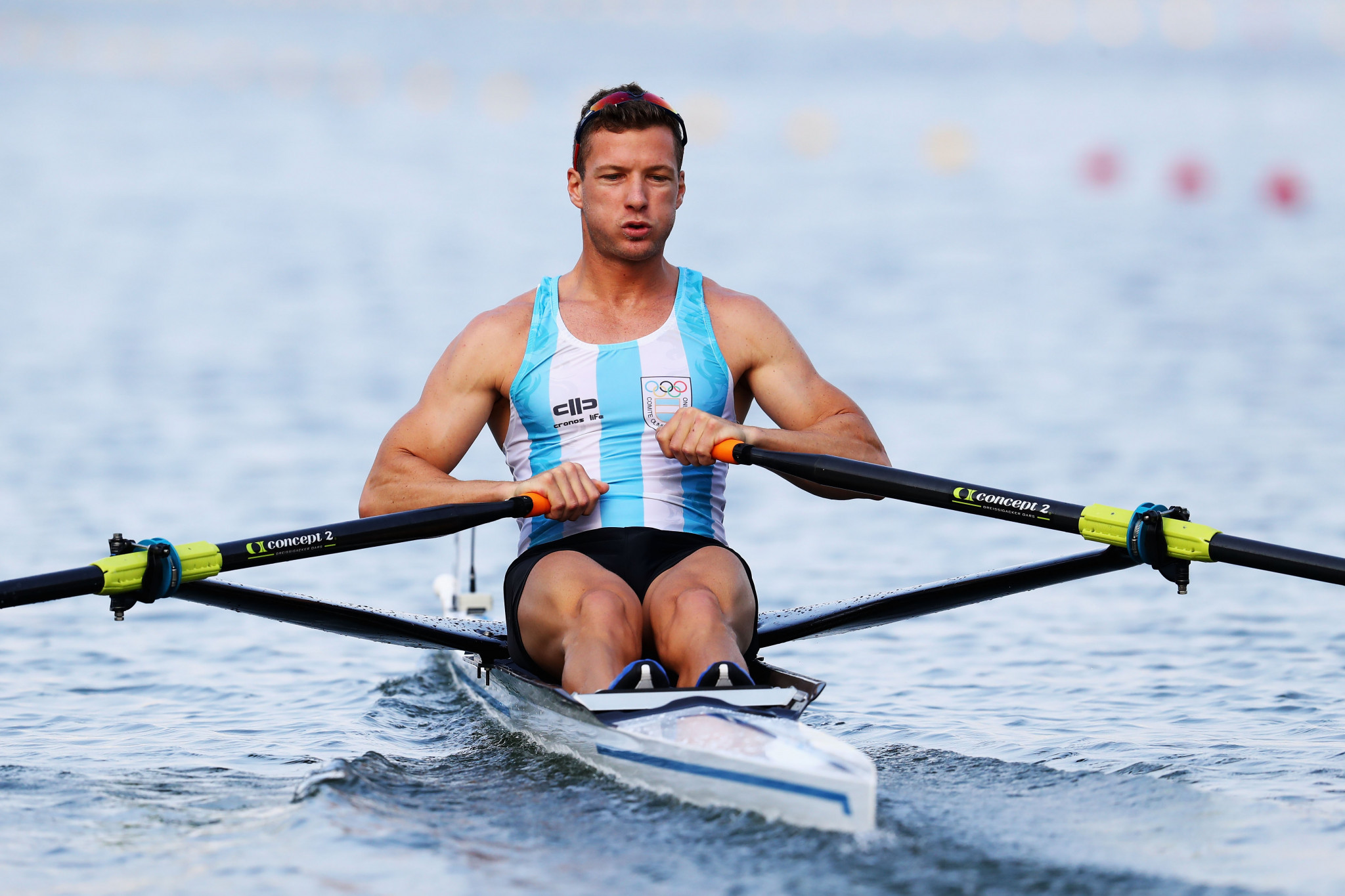 Brian Rosso has been sanctioned by Argentina's national rowing federation ©Getty Images