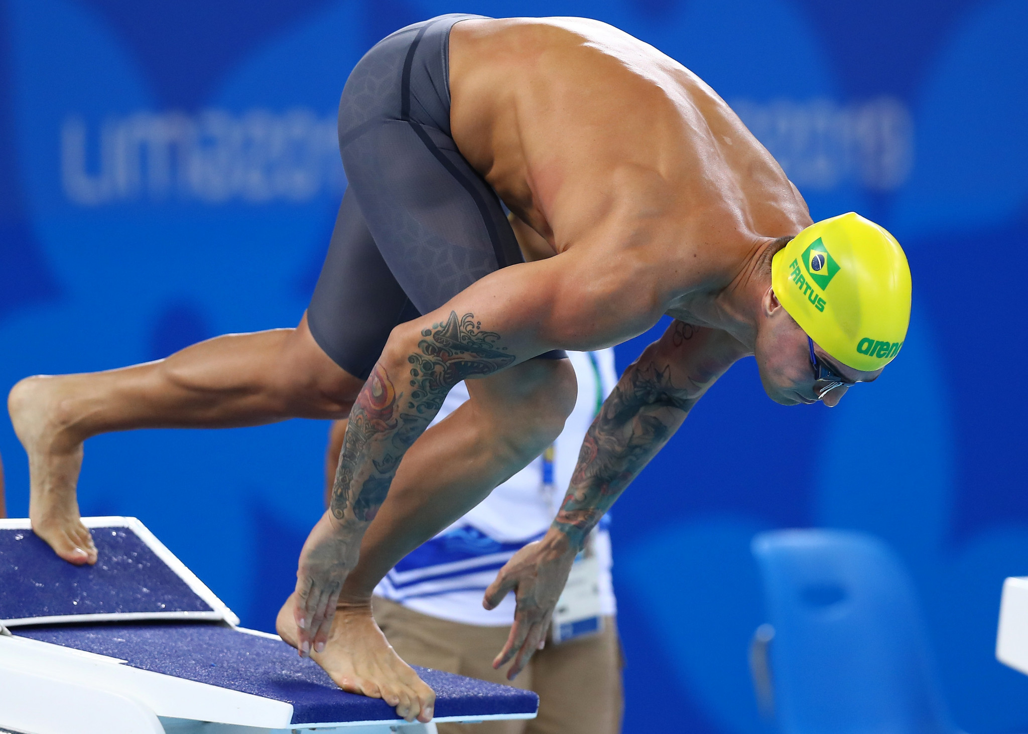 Brazilian swimmer Fratus questions Coventry's words of encouragement for Tokyo 2020 athletes