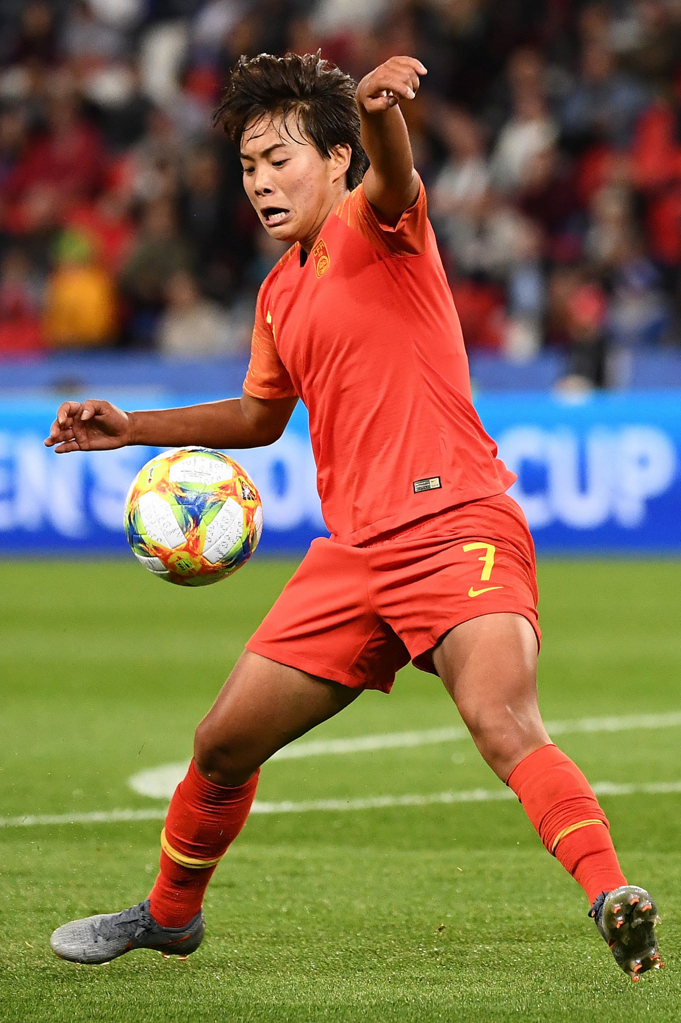 Wang Shuang returns to the team after being caught in the lockdown of the city of Wuhan ©Getty Images