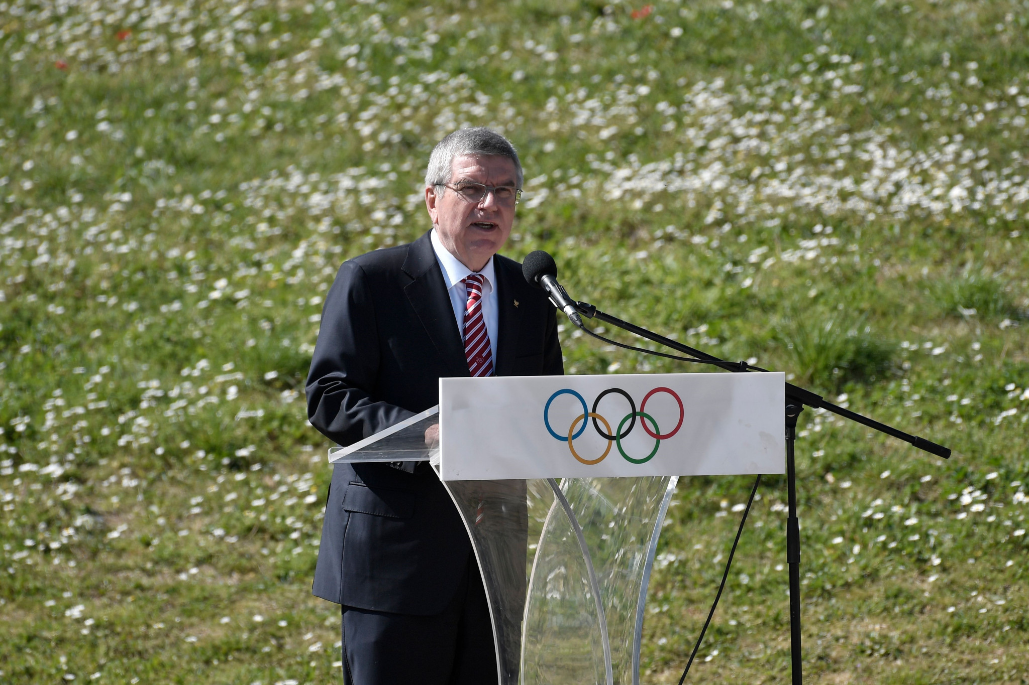 International Olympic Committee President Thomas Bach ordered weightlifting to tackle its doping problem or face being excluded from the Olympic Games ©Getty Images