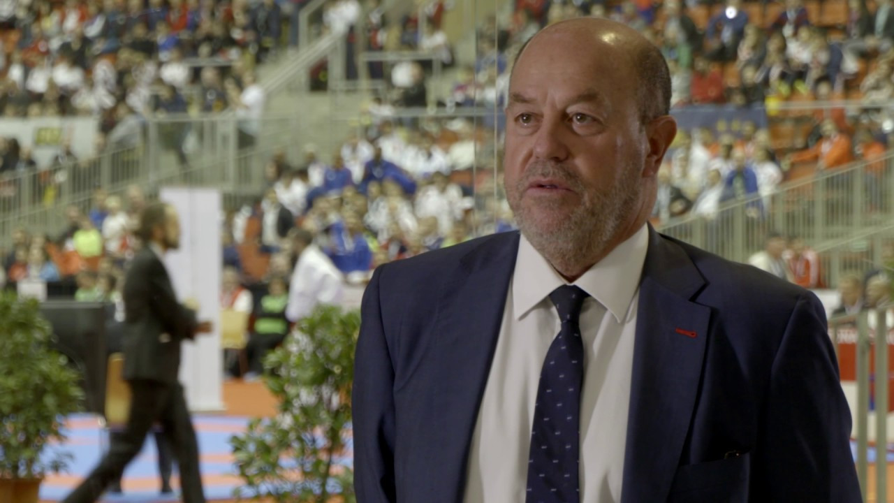 """WKF President Antonio Espinós revealed the organisation is dealing with the coronavirus crisis """"positively"""" ©YouTube"""