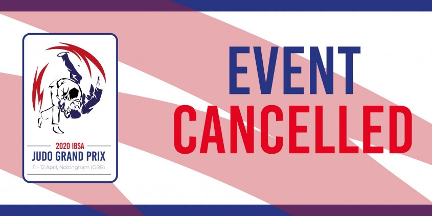 IBSA Judo Grand Prix in Nottingham cancelled due to coronavirus