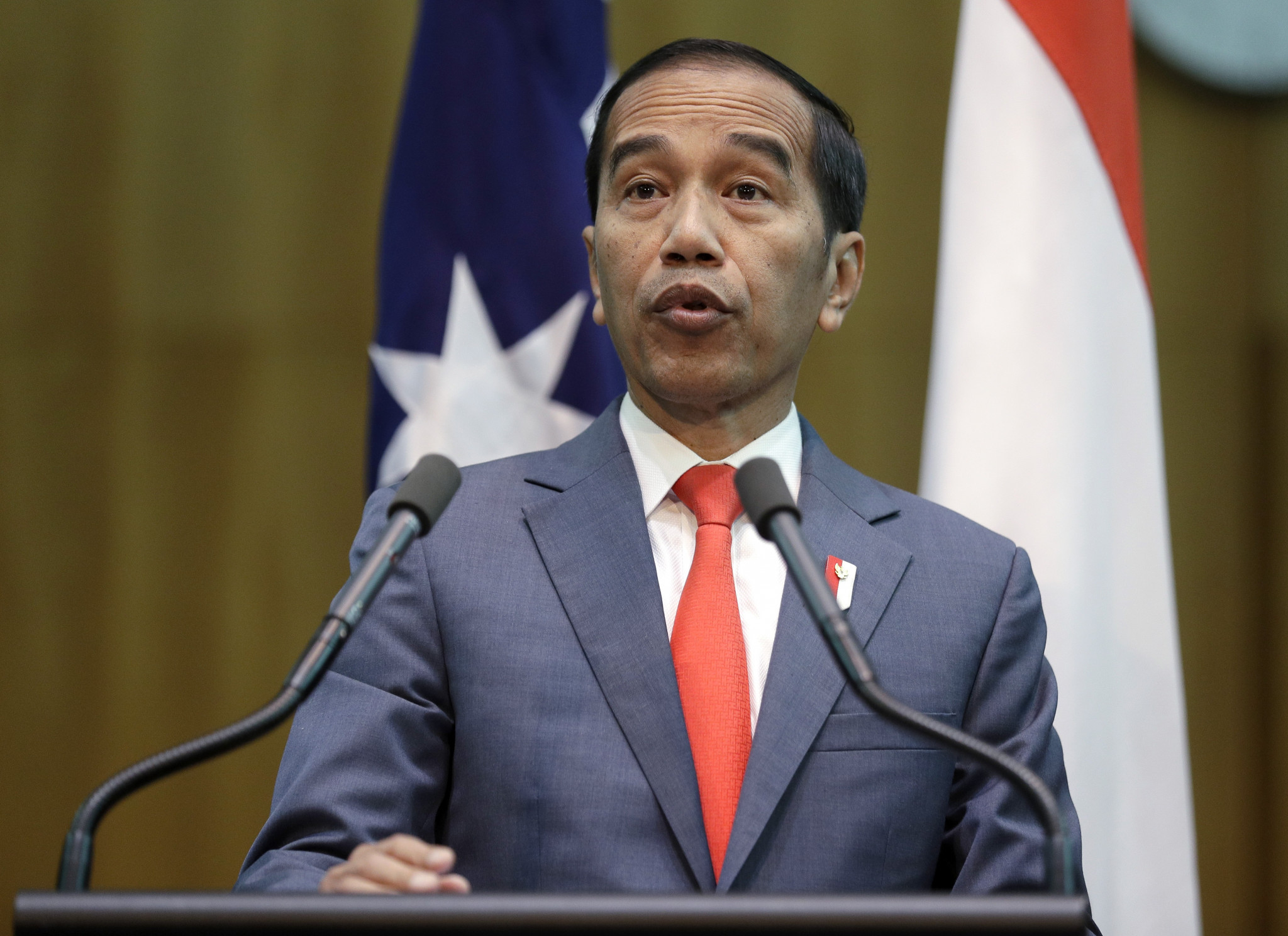 Indonesia's President Joko Widodo was recently reported to be weighing up an audacious 2032 bid centered on East Kalimantan's Borneo island ©Getty Images
