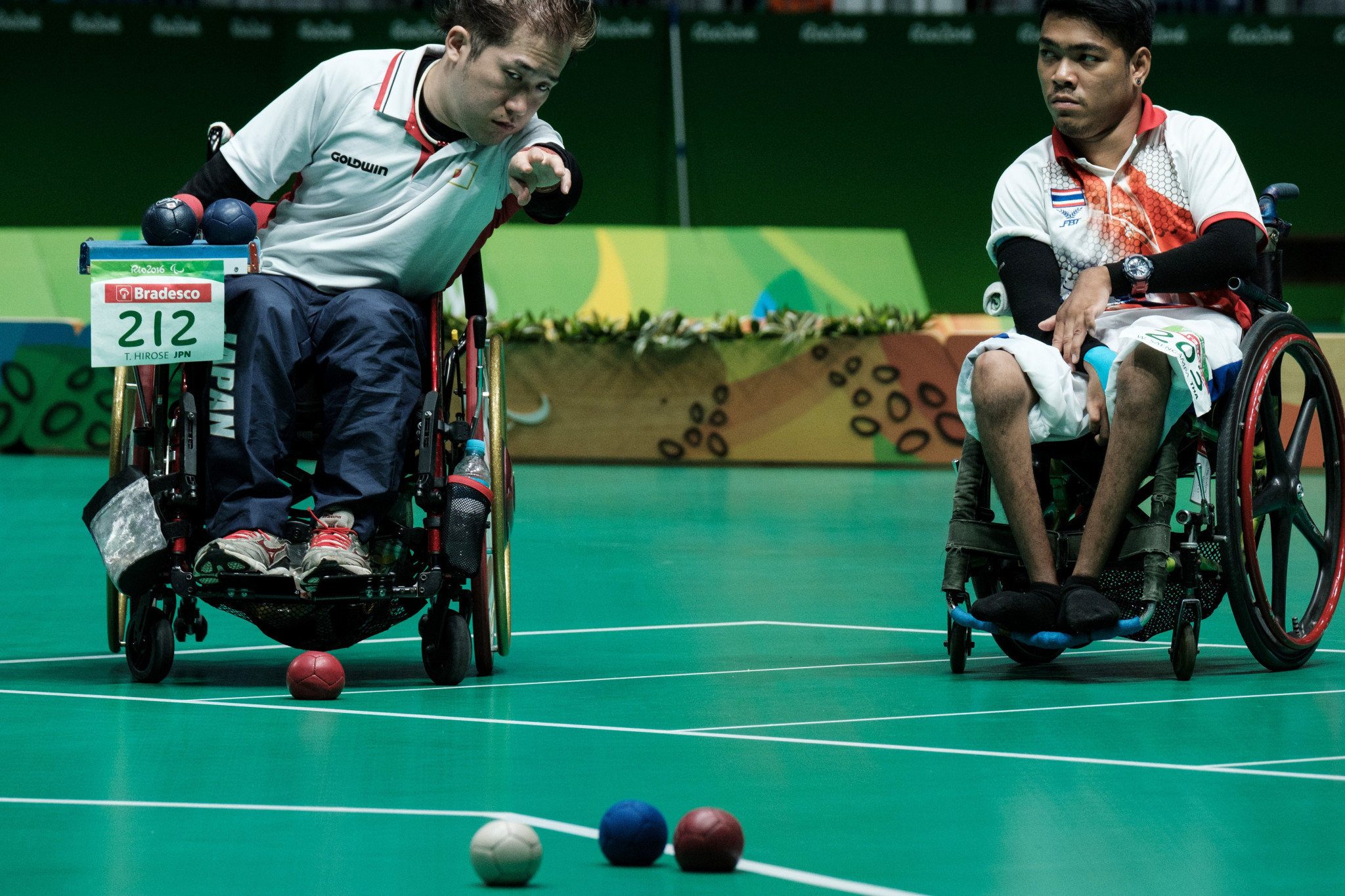 Boccia athletes will be required to provide a negative COVID-19 test ahead of arrival for competitions ©Getty Images