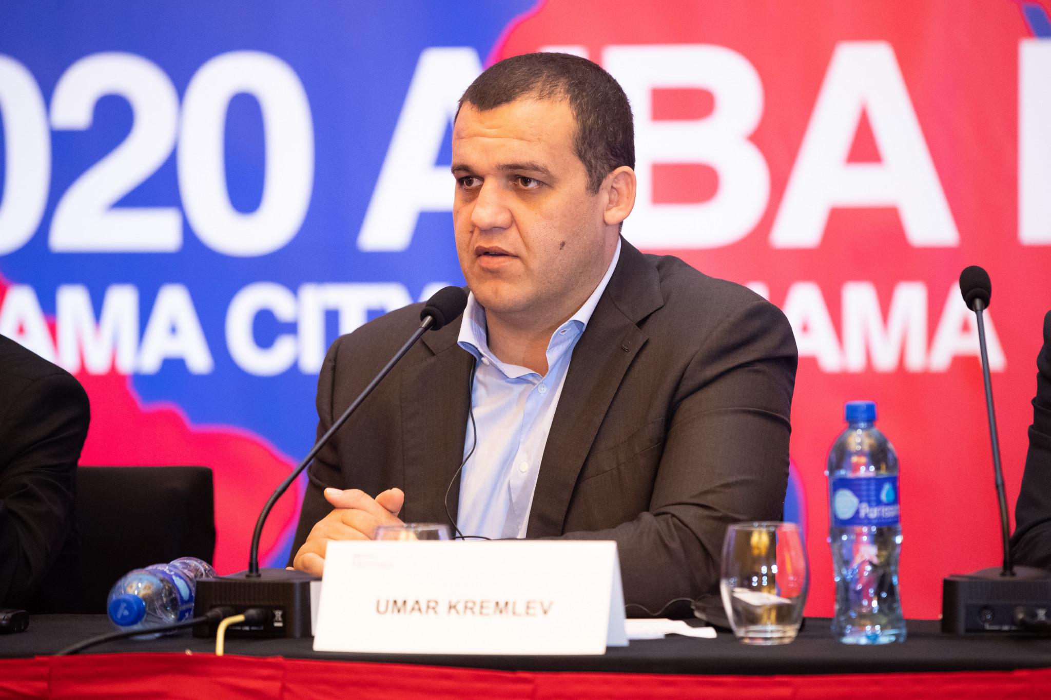 Umar Kremlev was elected AIBA President in December 2020 ©AIBA