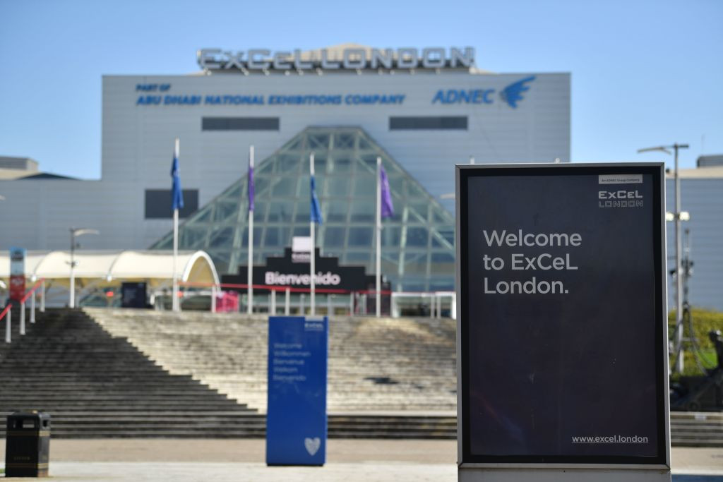 London 2012 venue to become temporary hospital to treat coronavirus patients