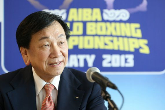 Chinese Taipei's C K Wu is elected as the sixth AIBA President at the 16th Congress in Santo Domingo ©EUBC