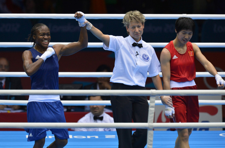 Nicola Adams became the first female Olympic boxing champion at London 2012 ©Getty Images