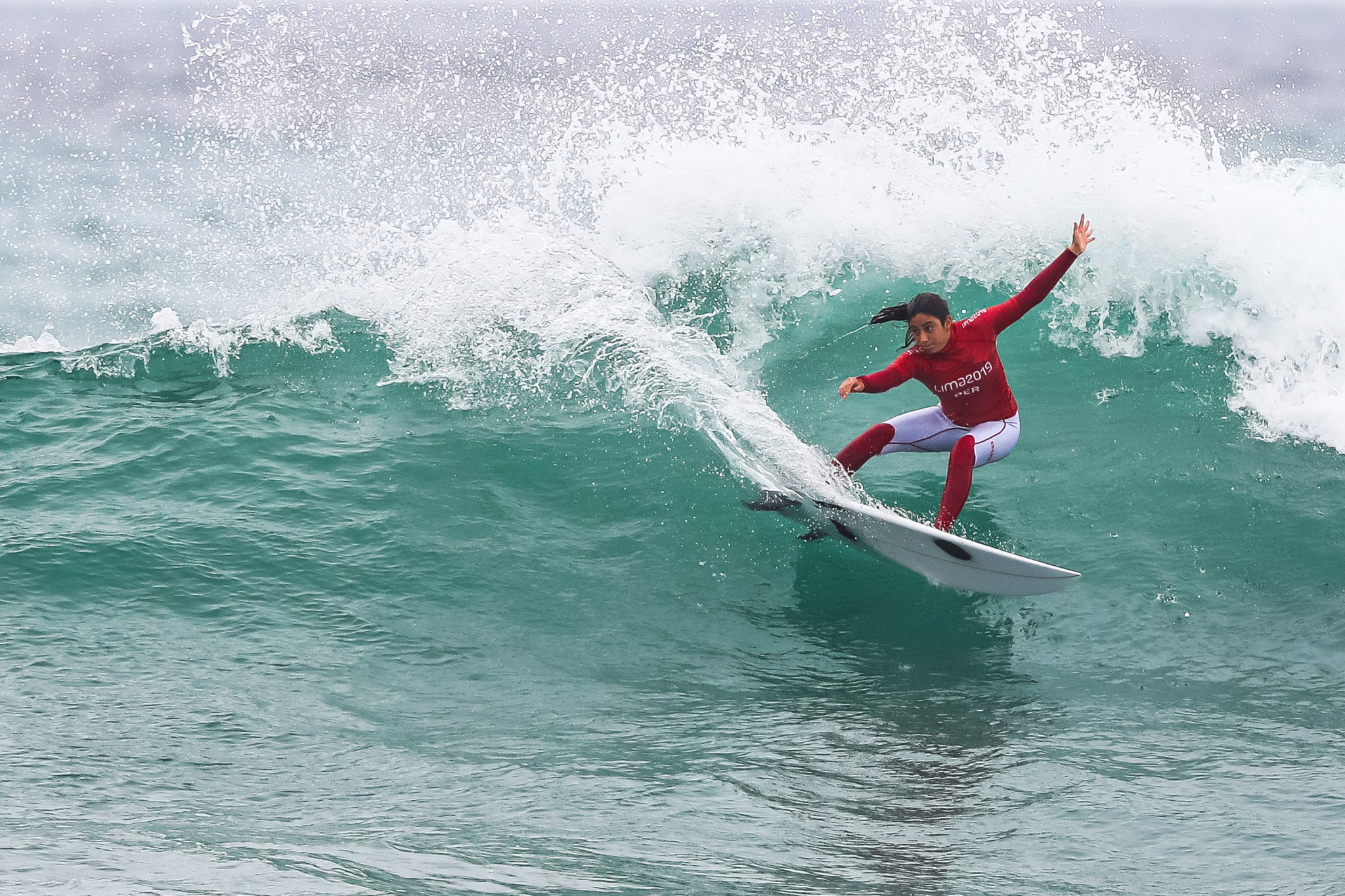 Many surfers had already qualified for Tokyo 2020 at events such as the Lima 2019 Pan American Games, but there were still some places left ©Getty Images
