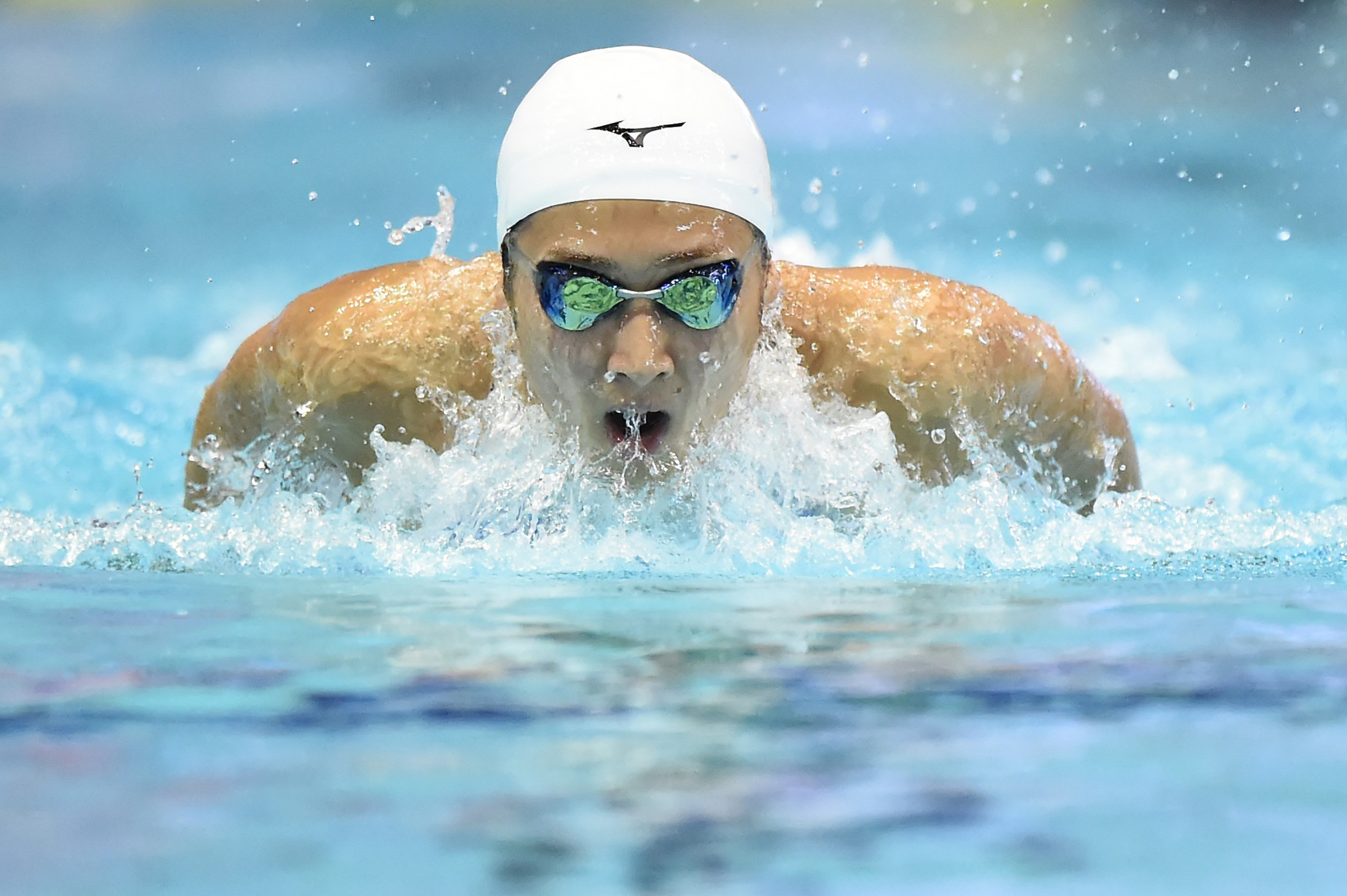 Rikako Ikee, back in the pool after leukaemia treatment, has qualified for Japan's Tokyo 2020 Olympic trials in April ©Getty Images