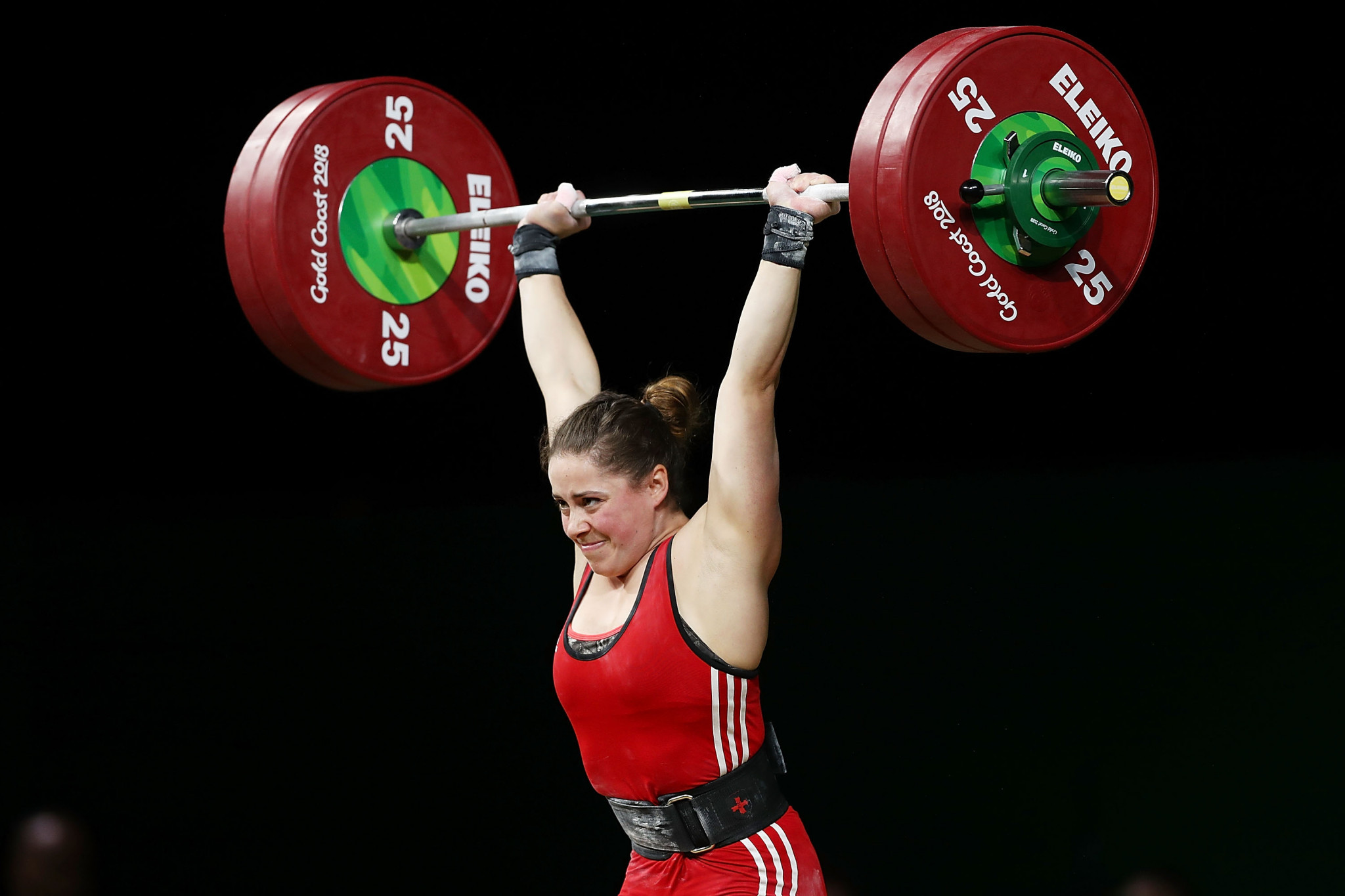 """Maude Charron said """"everyone in weightlifting is heartbroken"""" over the decision to postpone Tokyo 2020 ©Getty Images"""
