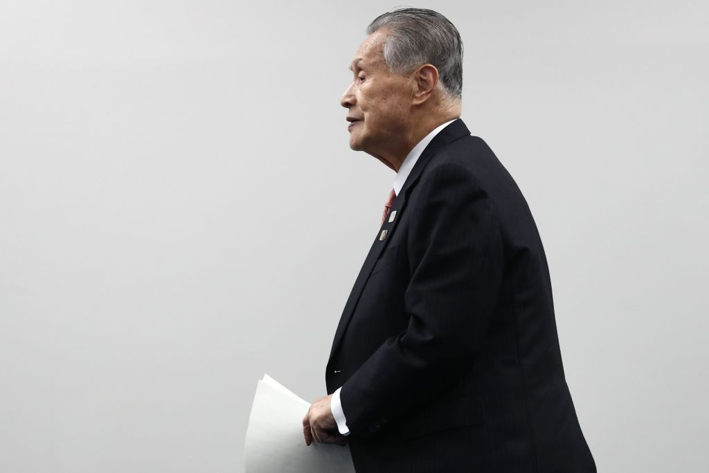 Tokyo 2020 President Yoshirō Mori has written to all International Federations ©Getty Images