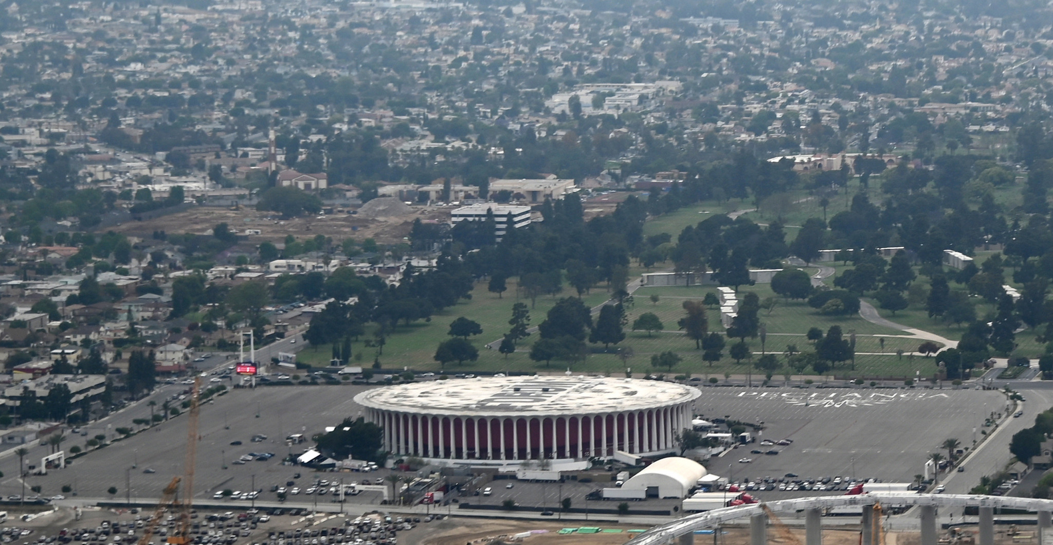 LA Clippers chairman buys Olympic venue to aid construction of basketball arena