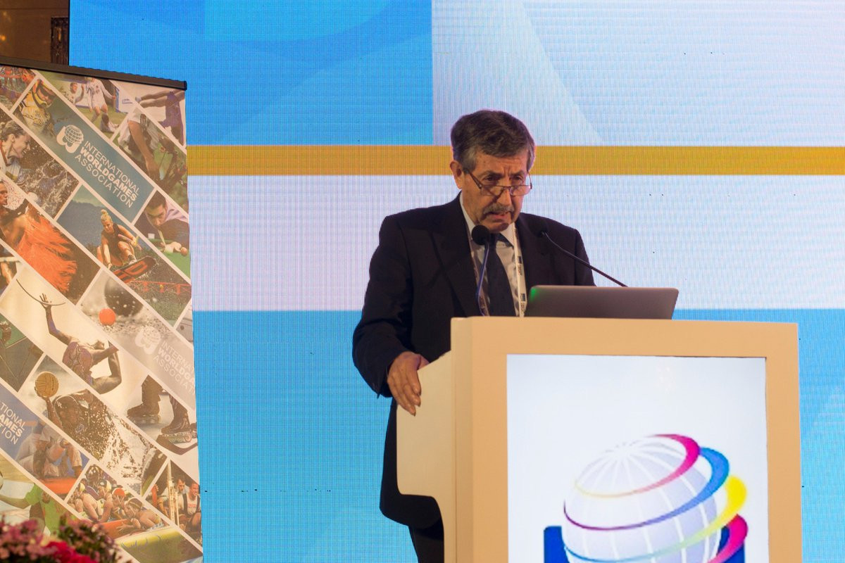"""IWGA President José Perurena has pledged to work with the IOC to """"ensure that the World Games will take place as planned"""" ©Twitter"""