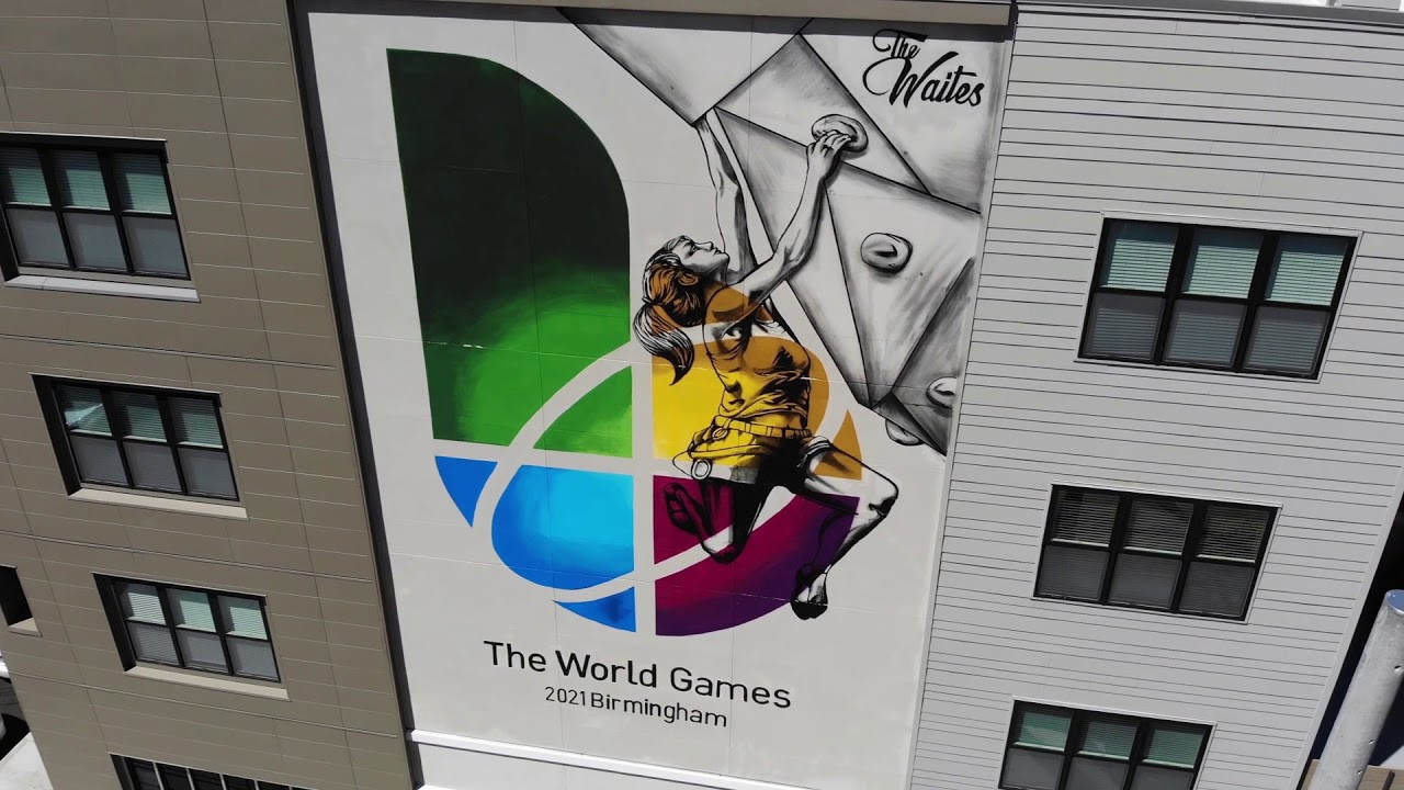 The World Games are due to take place in Birmingham in Alabama from July 15 to 25, 2021 ©Youtube