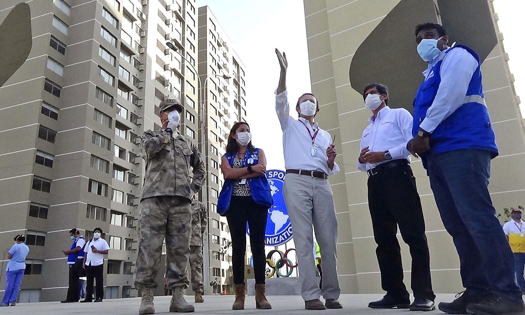Lima 2019 Athletes' Village among sporting venues to become coronavirus medical facilities