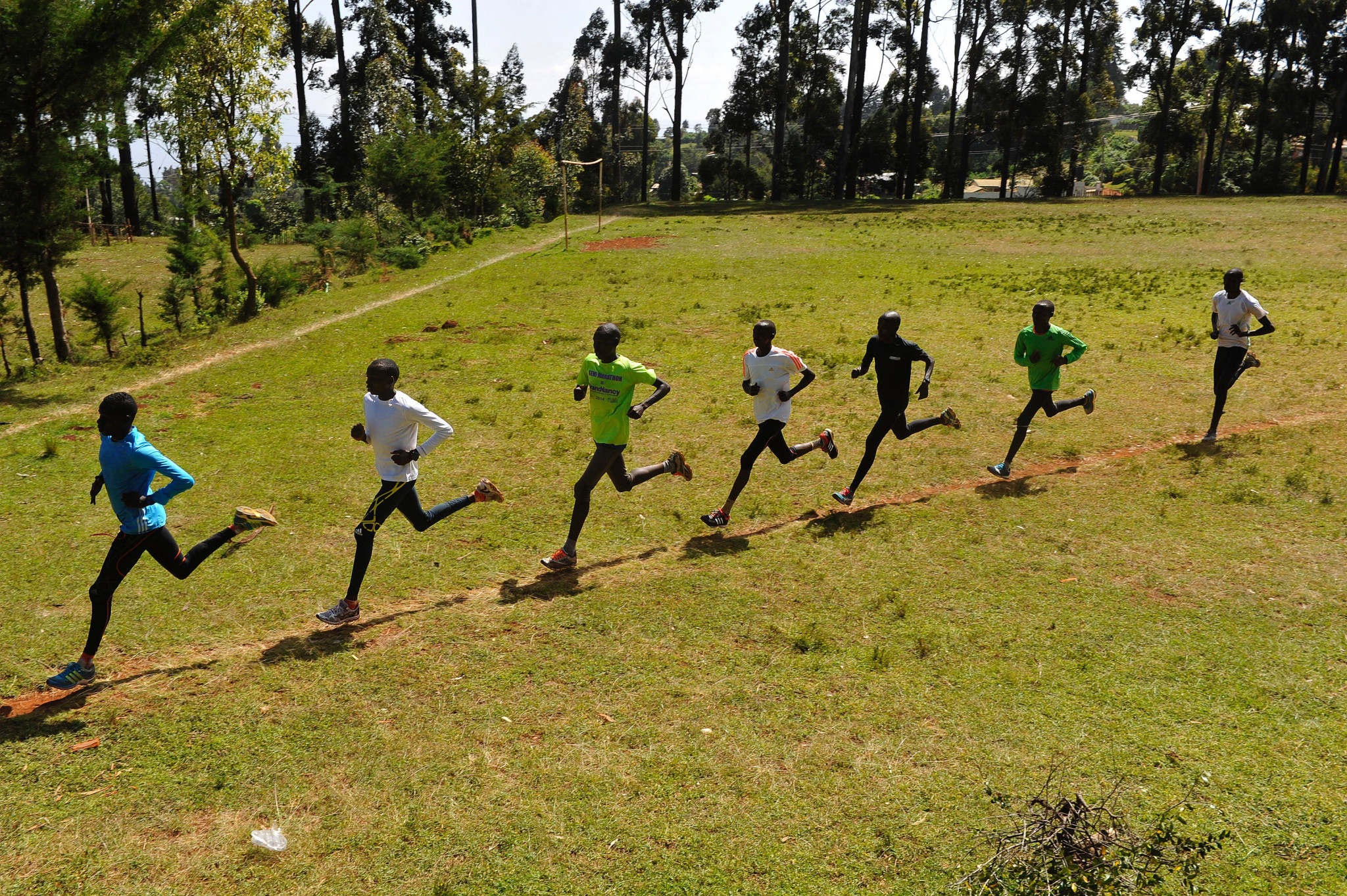 Athletes in the region of Iten were arrested for ignoring Government rules ©Getty Images