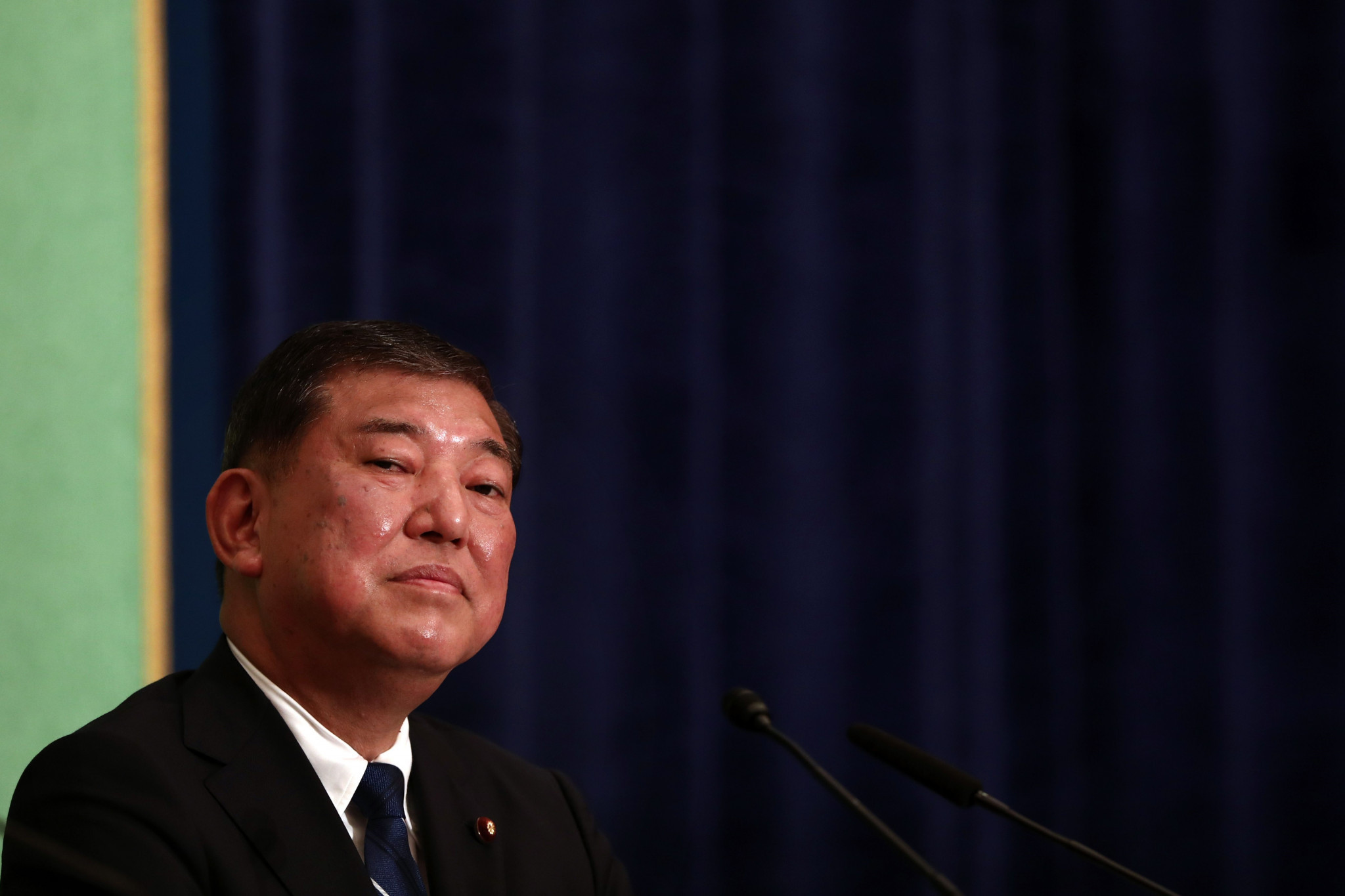 Shigeru Ishiba has raised doubts about the new dates for the Tokyo 2020 Olympic Games ©Getty Images