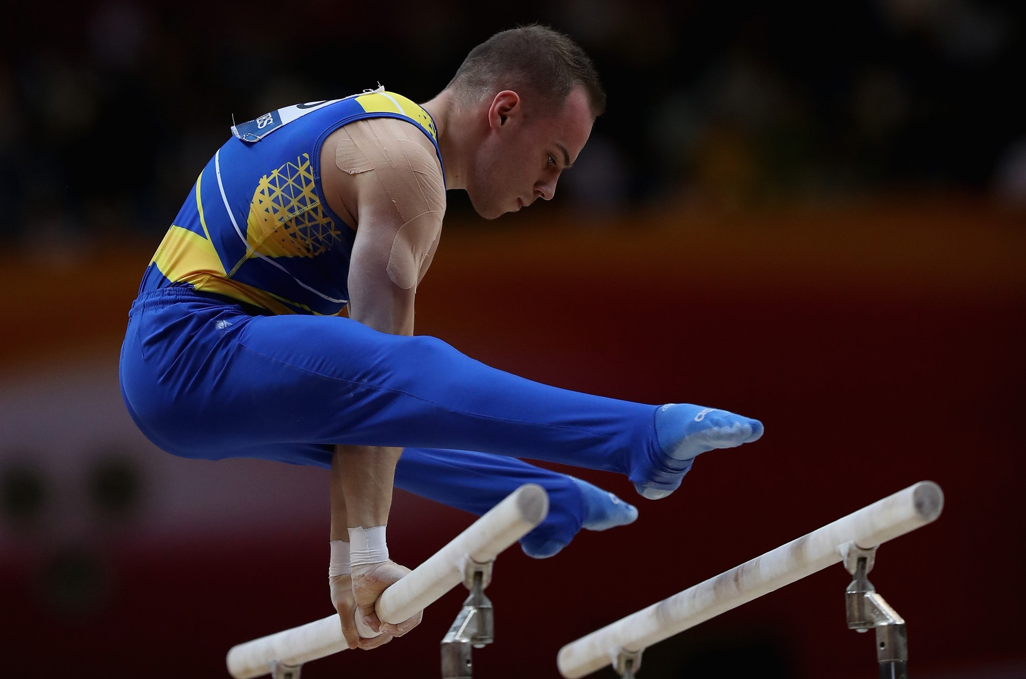 Gymnast Verniaiev named Ukrainian Olympic Committee's athlete of month for March