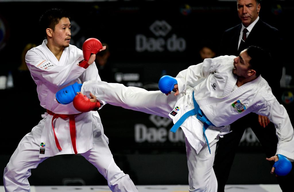 This year's Karate World Championships are currently scheduled to go ahead as planned ©Getty Images