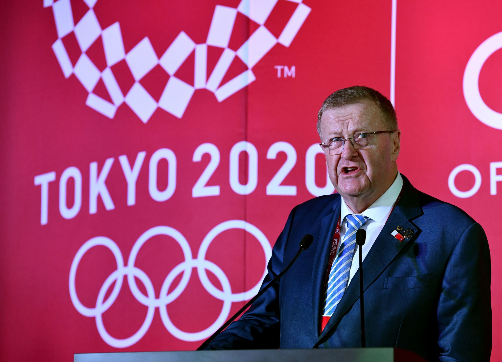 AOC President John Coates is taking a 20 per cent pay cut ©Getty Images